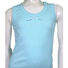 60 Units of Girls Tank Top 8-12 - Girls Underwear and Pajamas