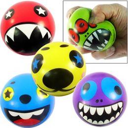 240 Units of Crazy Face Stress Balls - Balls