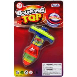 96 Units of Bouncing Top With Light - Light Up Toys