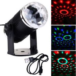 24 Units of LED MINI STAGE LIGHTS. - LED Party Items