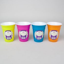 72 Units of Cup 16oz Double Wall Plastic - Plastic Drinkware