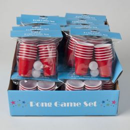 48 Units of Mini Party Beer Pong Set - Summer Toys