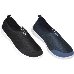 24 Units of Mens Sport Sneaker Two Color Assortment - Men's Sneakers