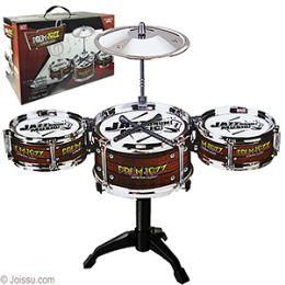 12 Units of 7 Piece Jazz Drum Sets. - Musical