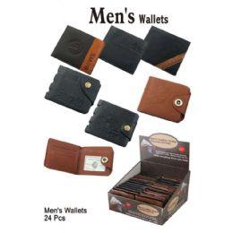 24 Units of ASSORTED MENS WALLETS - Wallets & Handbags