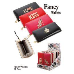 12 Units of FANCY WALLETS - Wallets & Handbags