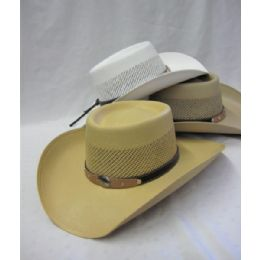 12 Units of Premium Cowboy Hat Assorted Colors - Cowboy & Boonie Hat