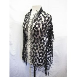 24 Units of Doily Scarves - Womens Fashion Scarves