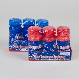 96 Units of Bubbles Patriotic 3pk/4oz - Bubbles