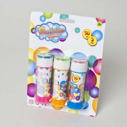 72 Units of Bubble 3pk 1.7oz - Bubbles