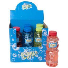 24 Units of 16 Oz Refill Bubble Bottle - Bubbles