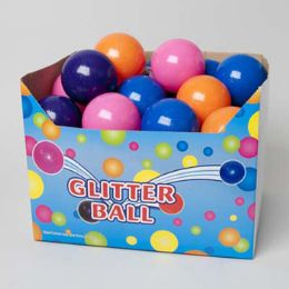 72 Units of Bouncing Ball 4in Glitter - Balls