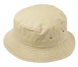 24 Units of Kids Cotton Bucket Hats - Bucket Hats