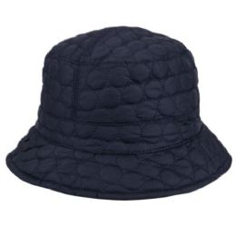 24 Units of Quilted Stitch Bucket Hats - Bucket Hats