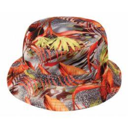 24 Units of Leaf Reversible Bucket Hats - Bucket Hats