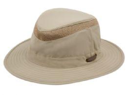 12 Units of Outdoor Safari Hats W/ Partial Mesh - Bucket Hats