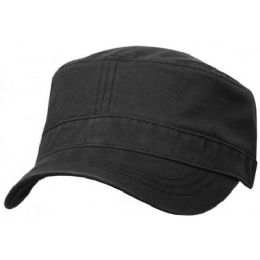 24 Units of WASHED COTTON MILITARY CADET - Military Caps