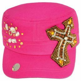 24 Units of Cotton Cadet Hats - Baseball Caps & Snap Backs