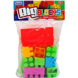 96 Units of Twenty Piece Jumbo Blocks - Educational Toys