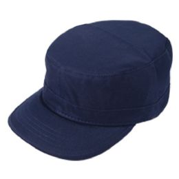 24 Units of FITTED ARMY MILITARY CADET IN NAVY - Military Caps