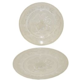 48 Units of ROUND PLATE 30*30CM - Plastic Bowls and Plates