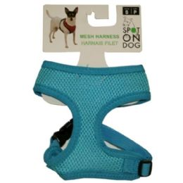 24 Units of Small Soft Harness Asst Colors - Pet Accessories