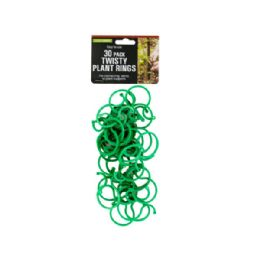 72 Units of Twisty Plant Rings - Garden Tools