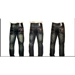 12 Units of MERCELIZED STRAIGHT LEG DENIM 100% COTTON - Mens Jeans