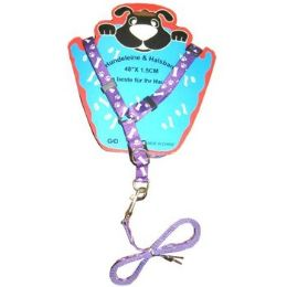 72 Units of Pet Leash And Harness Set - Pet Accessories