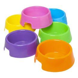 96 Units of 9 Inch Plastic Pet Bowl - Pet Accessories