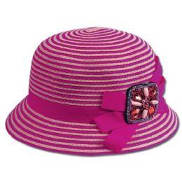 24 Units of Cloche Hats - Bucket Hats