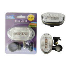 96 Units of Bicycle Flashing Light, 5 LED - Biking
