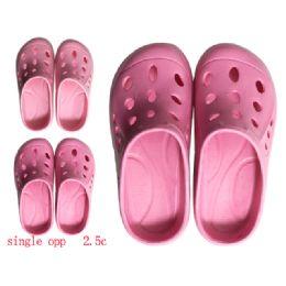 72 Units of Girls Garden Clogs - Girls Slippers