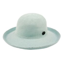 12 Units of Wide Brim Sun Bucket Hats In Mint - Sun Hats