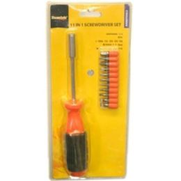 48 Units of 11 In 1 Screwdriver Set - Hardware Shop Equipment
