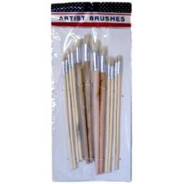 192 Units of 12pc Paint Brushes - Paint and Supplies
