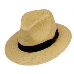 24 Units of PANAMA STRAW HATS - Sun Hats