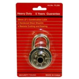 96 Units of Heavy Duty Combination Lock 50mm 2inches - Padlocks and Combination Locks