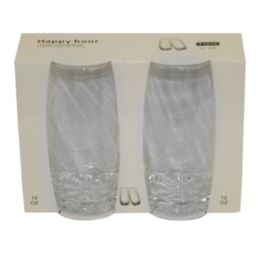 36 Units of TUMBLER 2PC SET 12oz BUBBLE - Plastic Drinkware