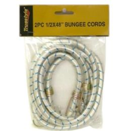 48 Units of 2PC .50 X 48 IN BUNGEE CORD - Rope and Twine