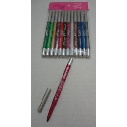 72 Units of Colored Eyeliner Pencil - Lip & Eye Pencil