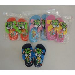 48 Units of Child's Sandals with Character - Unisex Footwear