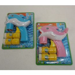 96 Units of HanD-Operated Bubble Gun *dolphin - Bubbles