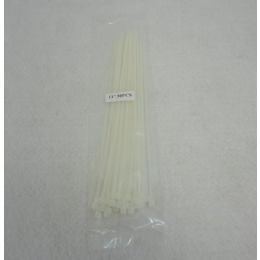 """60 Units of 30pc 11"""" Cable Ties [white] - Cables and Wires"""
