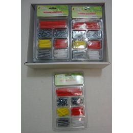 72 Units of Screw And Anchor Tool Set - Hardware Products