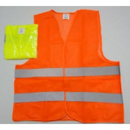 100 Units of Super Reflective Safety Vest--Orange Only - Safety Helmets