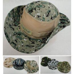 72 Units of Floppy Boonie Hat (Digital/Army Camo) Mesh Sides - Cowboy & Boonie Hat