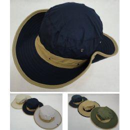 72 Units of Floppy Boonie Hat (Two-Tone) - Cowboy & Boonie Hat