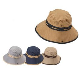 12 Units of Floppy Boonie Hat [Assorted Colors] - Cowboy & Boonie Hat