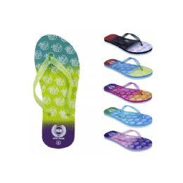 72 Units of Women's Glitter Flip Flop - Women's Flip Flops